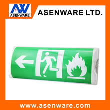 Hot sell UL listed LED Emergency exit sign lighting rechargeable led emergency exit light