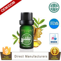 Professional Organic Comprehensive Hair Care Ginger Essential Oil