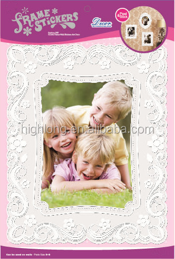 Vinyl Picture Photo Frame