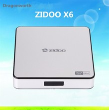 Original ZIdoo X6 Pro TV Box Android RK3368 Octa Core 2GB 16GB Zidoo X6 TV Box
