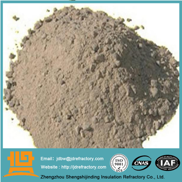 JINDING high alumina white rotary kiln bauxite refractory cement for furnace shuhua guo sales