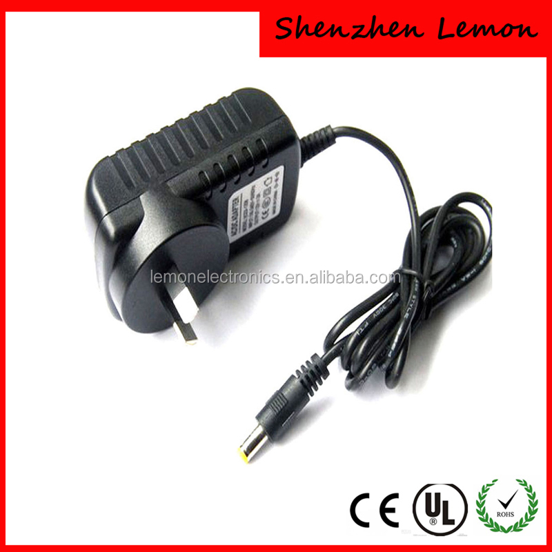 Australia type plug 5v 0.5a power AC DC adapter