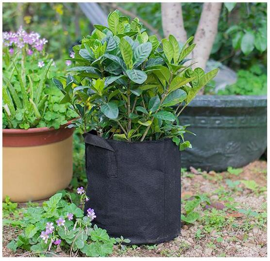50 Gallon Grow Bags Heavy Duty Nonwoven Plant Fabric Pots with Handles
