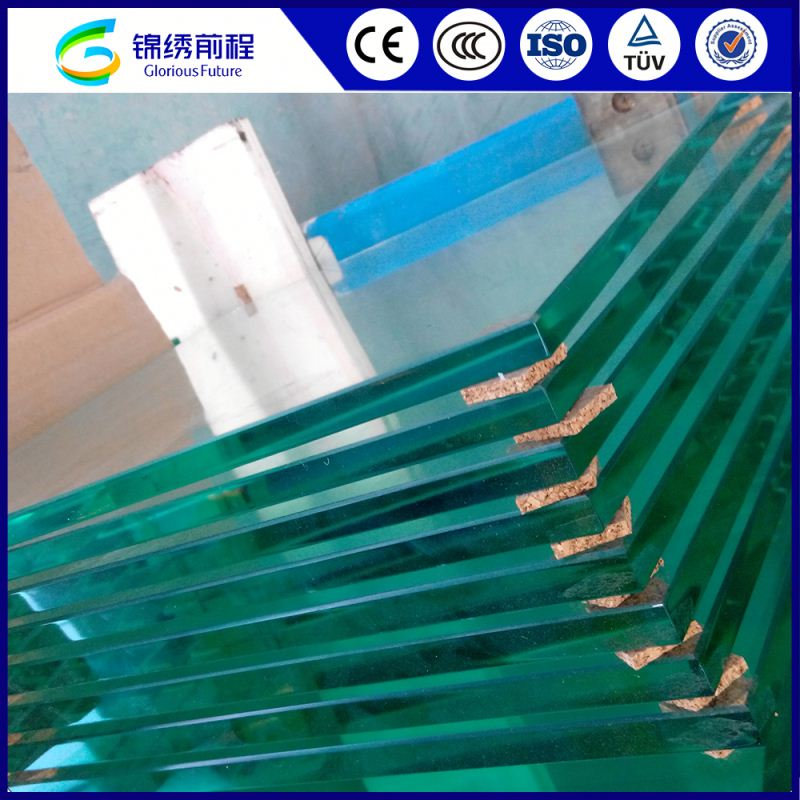 China Manufacturer Black 12mm Tempered Glass Cost