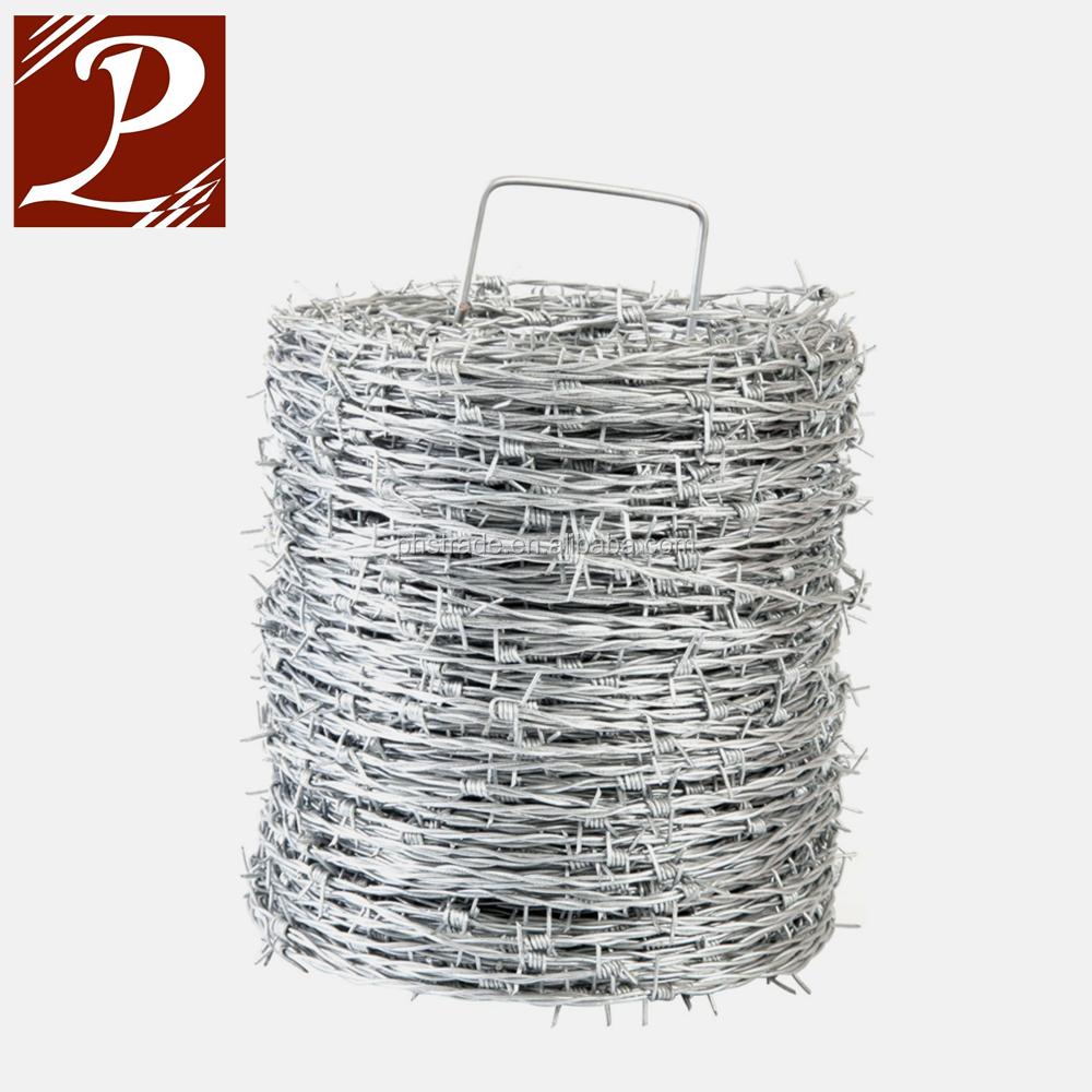 1320ft/reel 12-1/2ga Barbed Wire Fence - Buy Barb Wire Fence Sale ...
