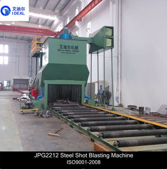 Construction Machinery Metal Cleaning Automatic Sandblasting Equipment