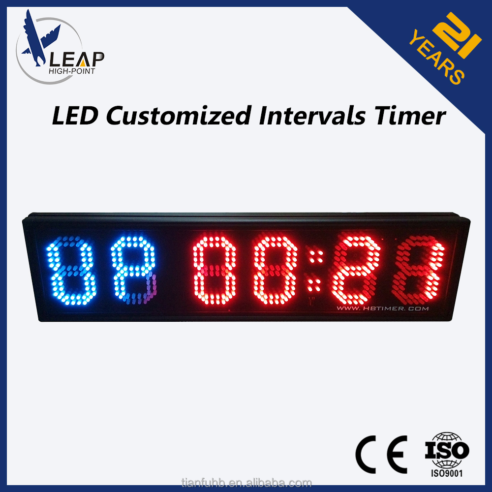 Led Display Interval Timer Portable Mini Digital Timer