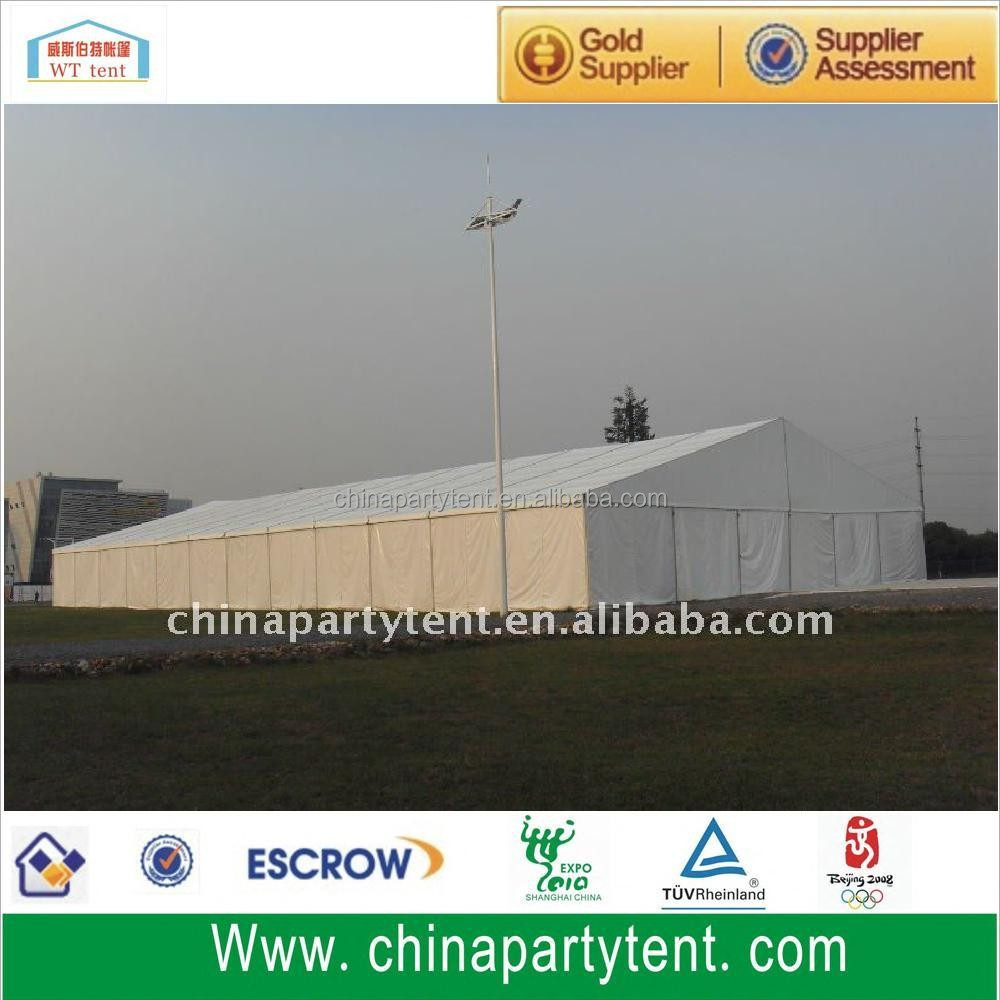 Factory 30m clear span fireproof white PVC warehouse wedding tent for supplies