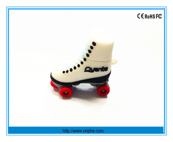 China factory promotion gift customised 4gb simulation shoes shape usb flash drive