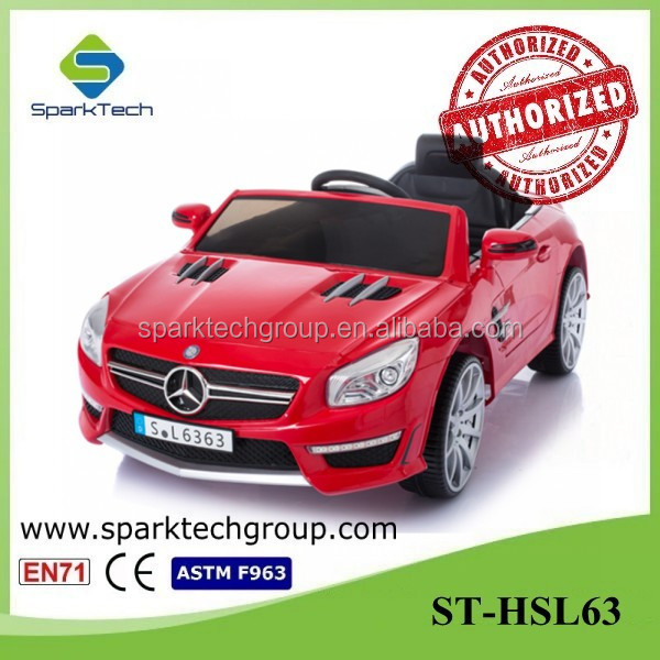 Licensed Mercedes SL63 RC Electric Ride Cars Kids/Cheap Children Electric Toy Car Price