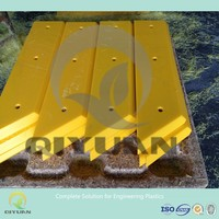 uv stabilized plastic sheet marine fender pad manufacturer