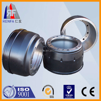 Casting Iron Heavy truck semi-trailer brake drum