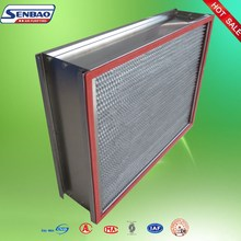 High Temperature Resistance H14 Hepa Filter for Pharmaceutics