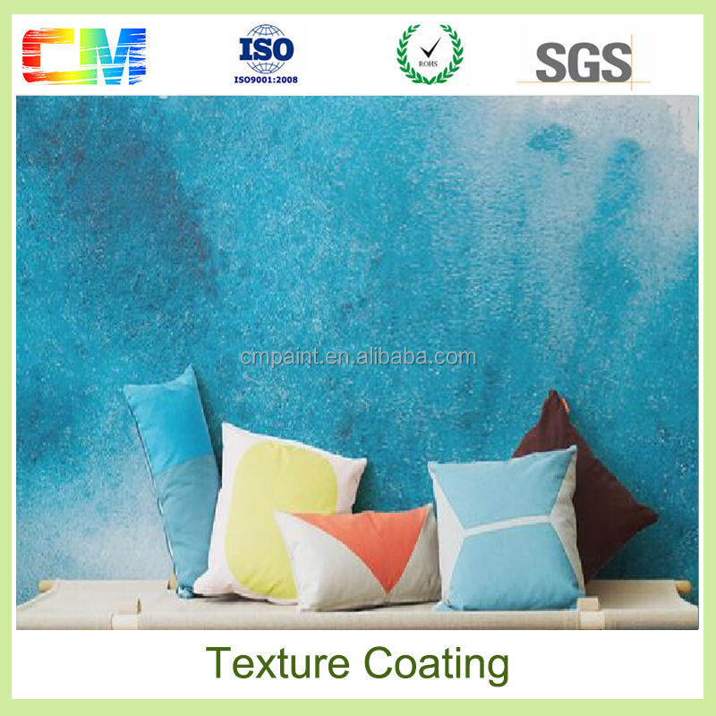 Washable and scuff resistance special design wall coatings interior textured paint