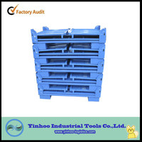 hot sale high quality Industrial stackable welded steel box pallets stacking container