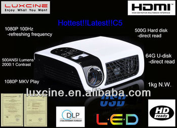 Android LED projector 720P ,FULL HD with Android 4.0 OS