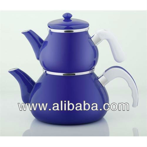 Colourful teapot