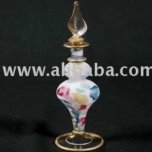 Egyptian Hand-Made Perffume Glass Bottles