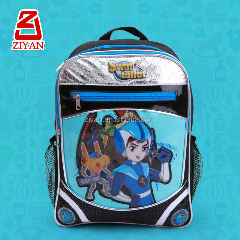 2014 Cool Cartoon Characters SWAL TAILOR School Backpack For Kids Children Teenagers