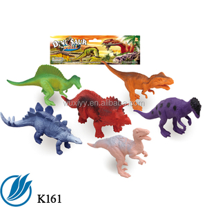 Plastic dinosaur kids model toys for parent- child game as gifts