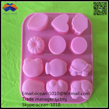Good quality safety food grade silicone cake mold