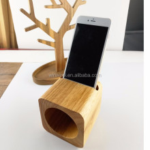 Pretty mini wood speaker for IPhone, portable wood accessory lound-speaker