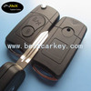 Topbest 3 buttons cay key shell for S-sangyong modified flip key shell car remote key ssangyong remote key