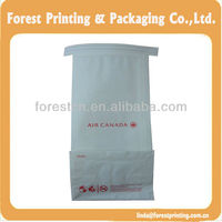 coffee paper bag Heat sealed brown kraft paper bag for food/flat customized kraft paper food bag