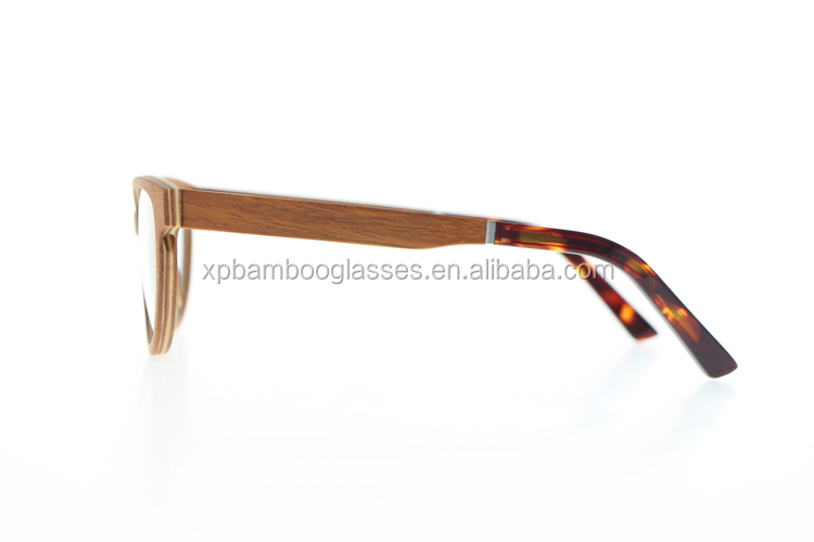 High Quality Cheap Ready Stock Cat Eye Cherry Wood Eyeglass Optical Glasses Frame