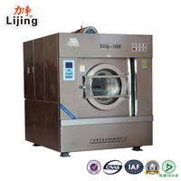 CE Approved Industrial Frontal Loading 100kg Capacity Washing Machine
