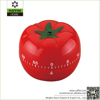 Hot Sale Plastic ABS Small Tomato Kitchen Timer
