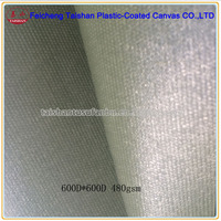 600D*600D PVC Polyester yarn fabric Material tarpaulin for All kinds of cover