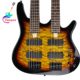 Danpur Datang electric 5 string double neck bass