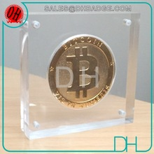 Custom Your Own Logo Coin Display Box,Coin Display Frames