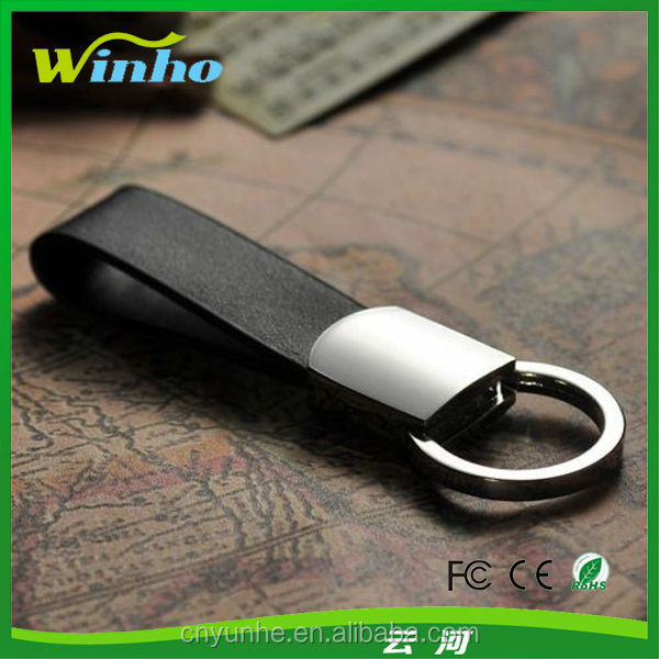 Deluxe Mini Loop Key Fob with a Twist Action Ring