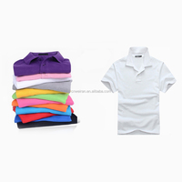 Color different high quality, custom logo can be printed polo shirt