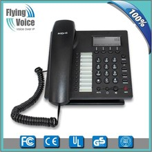 New advance 128*64 LCD screen voip phone office ip phone with 2 sip account IP622C for business