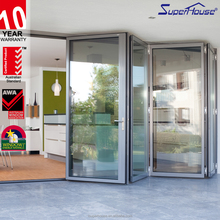 hing quality thermal break aluminium bi fold doors