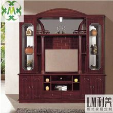 Elegant fashion style solid wooden tv stand pictures (700608)