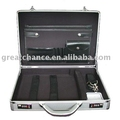 Silver Aluminum Laptop Notebook Attached Hard Case