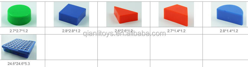 New 3D DIY Toy Plastic Puzzle QL-010(E)-7
