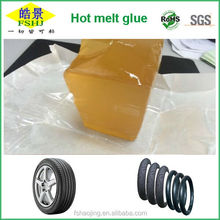Tyre Non - toxic resin / EVA Hot Melt Adhesive , Softening Point 123 Degree