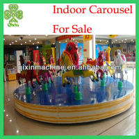 Children popular 16 seats indoor kids carousel rides