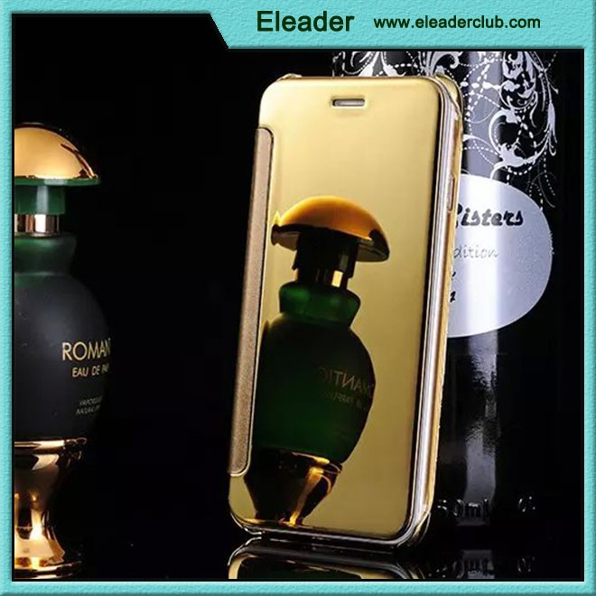 For iphone 6 mirror leather case latest new design
