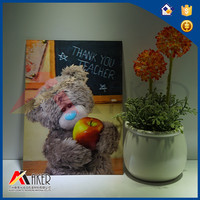 PET 3d Lenticular Printing 3d bear Picture For Gift