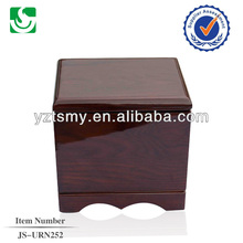 Wholesale funeral supplies solid ash wood antique urns