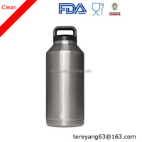 64oz stainless steel water bottle