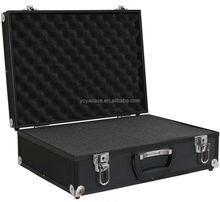 Aluminium SLR Hard Case Padded For Digital SLR Cameras Black