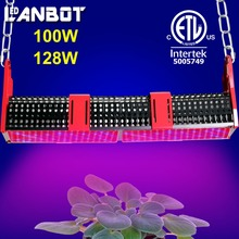 High intensity high lumens output 128w led grow light for plants grow