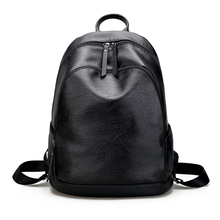 Fashional Colorful Large Capacity College synthetic leather backpack